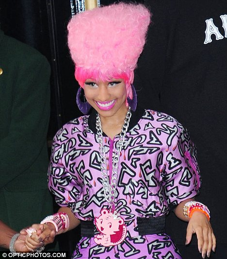 "of ""SNL."" And Nicki Minaj"